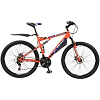 "Men's Boss Carnage Dual Suspension 27.5"" 650b Mountain Bike 21"" for Taller Riders."