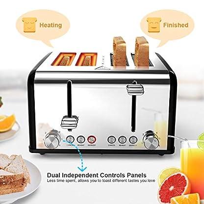 Morpilot-Toaster-edelstahl-mit-4-scheiben-1600-Watt-6-Brunungsstufen-und-3-Kochfunktionen