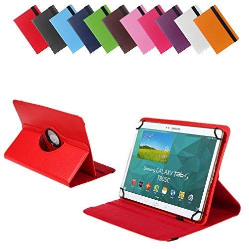 Bralexx Universal Tasche für Lenovo ThinkPad Tablet 10 20C1000UGE (26,3 cm (10 Zoll)) rot