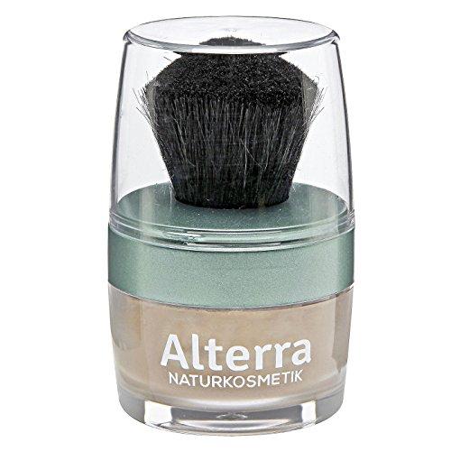 Alterra Loser Mineralpuder 7 g Farbe 03: Sand, inkl. Puderpinsel, mit Granatapfelextrakt, ohne...