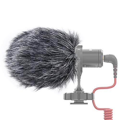 YOUSHARES microfono DEADCAT paraBrezza-outdoor vento scudo MIC paraBrezza manicotto in forma personalizzata per Rode VideoMicro e VideoMic me me-L