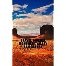 Travel Journal Monument Valley Arizona USA: landscape cover