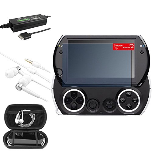 E For City Ac Charger + Bk Eva Case + Lcd Protector + Headset Compatible With Psp Go  available at amazon for Rs.2944