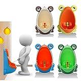 Rana orinal inodoro niños entrenamiento niños urinario para los muchachos Pee...