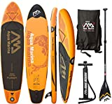 AQUA MARINA FUSION SUP inflatable Stand Up Paddle Surfboard Board Paddel