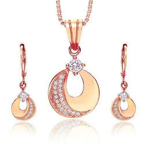 aischalove-crescent-moon-18k-oro-rosa-plateado-ronda-juegos-de-joyas-colgante-pendiente-collar-joyas