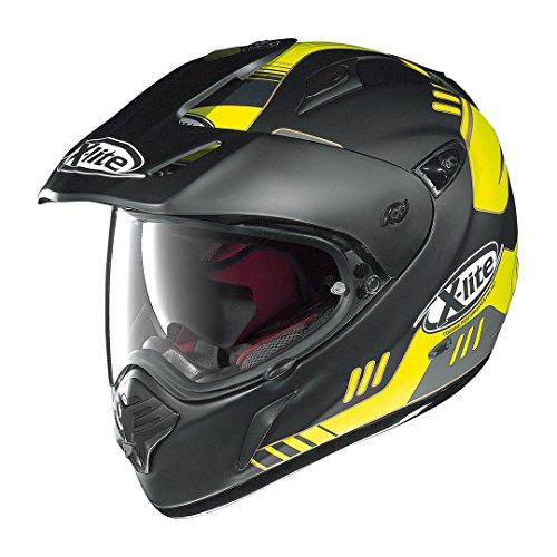X-Lite-com 551gt Calama Enduro Casco Moto Fibra composita N–nero opaco/giallo