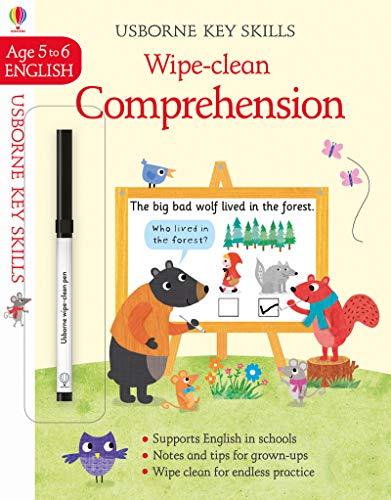 Wipe-Clean Comprehension 5-6 (Wipe-Clean Key Skills)