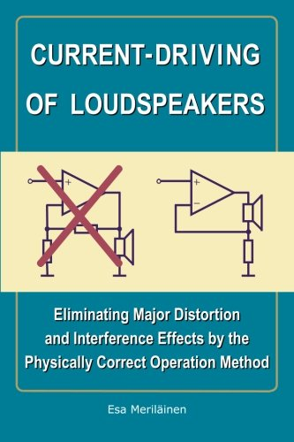 Current-Driving of Loudspeakers: Eliminating Major Distortion and Interference Effects by the Physically Correct Operation Method por Esa Meriläinen