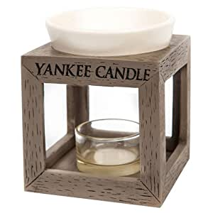 Yankee candle 1507924 bruleur tartelette bois c ramique for Meuble yankee candle