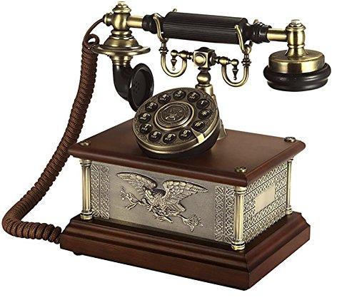 Retro-minimalistisches Telefon zu Hause Schnurgebundenes Telefon Geschäftstelefon Anrufer-ID-Telefon Schnurgebundenes Großtasten-Telefon mit Freisprecheinrichtung (Schnurgebundene Freisprecheinrichtung, Anrufer-id)