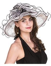 917591595 Amazon.co.uk: White - Sun Hats / Hats & Caps: Clothing