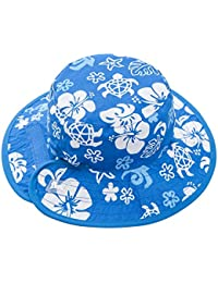 Chapeau Reversible Sun Baby Banz - Blanc Blue And/Bleu Blanc And