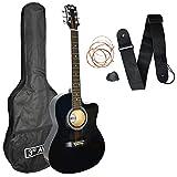 3rd Avenue cutaway chitarra elettroacustica, colore nero
