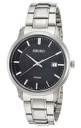 Seiko Neo Classic para hombre de relojes de acero inoxidable reloj