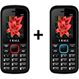I KALL K55 Dual Sim Buy 1 Get 1 Free Basic Feature Mobile Phone Offer- Red & Blue