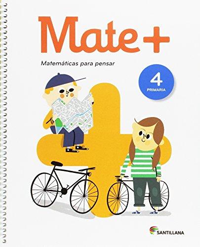 MATE+ MATEMATICAS PARA PENSAR 4 PRI - 9788414105306
