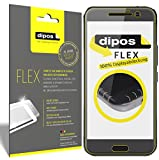dipos I 3X Schutzfolie 100% passend für HTC 10 Folie (Vollständige Displayabdeckung) Displayschutzfolie
