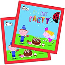 Official Ben and Holly Party Napkins x by Ben & Holly