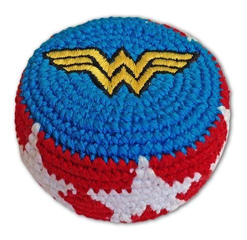 super-hero-embroidered-hacky-sack-footbag-fb44-wonder-woman-logo-by-adventure-trading-by-adventure-t
