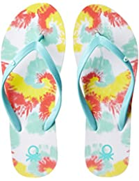 United Colors Of Benetton Women's Flip-Flops And House Slippers - B01MSD82ZC