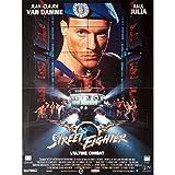 STREET FIGHTER Affiche de film 40x60 cm - 1994 - Jean-Claude Van Damme