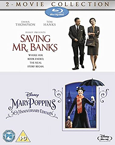 Saving Mr Banks & Mary Poppins [Blu-ray] [Import