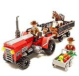 Q-Man Ingenioso Juguetes Tractor Granja con Remolque y Animales / 2...