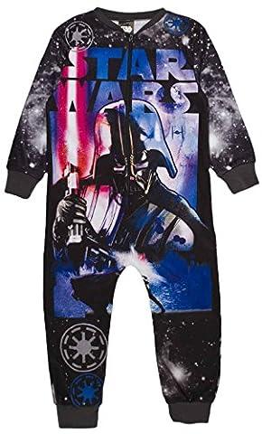 Kinder Jungen Fleece Character Einteiler Schlafanzug PJ 's Größe UK