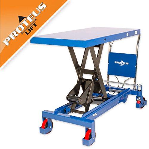 Hubtisch PROTEUS P1500 Tischwagen Hubwagen Rollwagen Hydraulisch Scherenhubtisch Plattformwagen