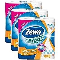 Zewa 42830, Zewa Wisch und Weg Paper Towel Giant Design Extra Long 72 sheets per roll pack of 3 x 2 rolls (Health & Personal Care)