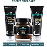mCaffeine Complete Coffee Skin Care Combo Face wash(100ml),Body scrub(100gm),face scrub(100gm)| Exfoliation, Tan Removal, Deep Cleanse | Oily/Normal Skin | Paraben & SLS Free