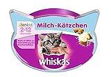 Whiskas Junior Knusper-Taschen Milch-Kätzchen