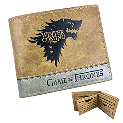 Wallet Game of Thrones Stark Leather Brown