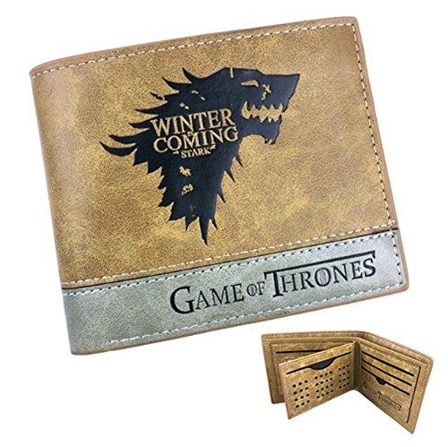 Brieftasche von Game of Thrones Stark Braun Leder