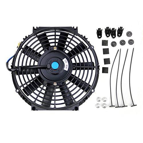 Universale ventola di raffreddamento per 12V 30,5cm Electric Push Pull