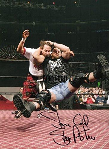 Stone Cold Steve Austin wrestling fotografia firmato edizione limitata + stampato Autograph