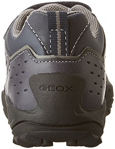 Geox J New Savage Boy A, Scarpe Stringate Basse Oxford Bambino Blau (NAVY/GREYC0661)