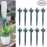 OUNONA 10pcs punte d'innaffiatura per piante piante d'appartamento pianta d'appartamento irrigazione a goccia automatica sistema di irrigazione strumento di waterer pentola di fiori