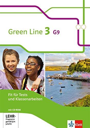 Preisvergleich Produktbild Green Line G9 / Ausgabe ab 2015: Green Line G9 / Fit für Tests und Klassenarbeiten mit Lösungsheft und CD-ROM 7. Klasse: Ausgabe ab 2015