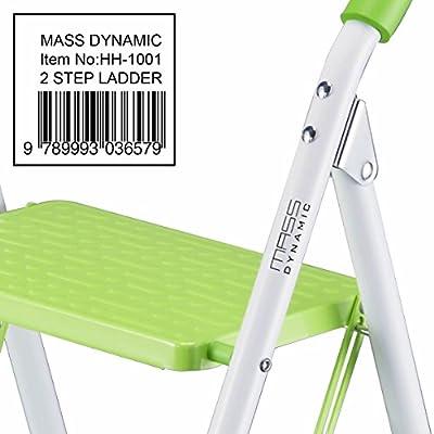 2Step Leiter Home DIY Küche Schritte Tread Leitern-Heavy Duty, faltbar, rutsch matte