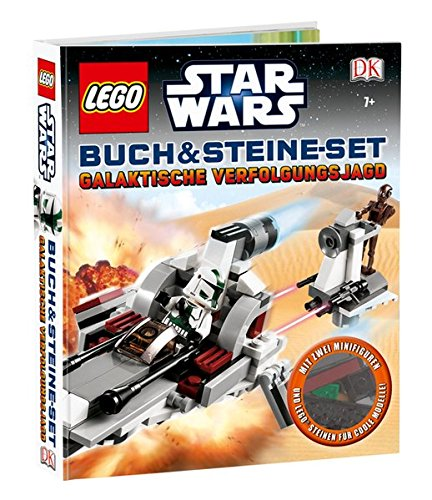Preisvergleich Produktbild LEGO® Star Wars™ Buch & Steine-Set: Galaktische Verfolgungsjagd