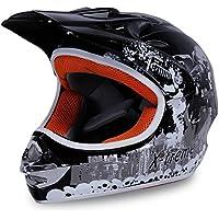 Actionbikes Motorradhelm X-treme Kinder Cross Helme Sturzhelm Schutzhelm Helm für Motorrad Kinderquad und Crossbike in schwarz