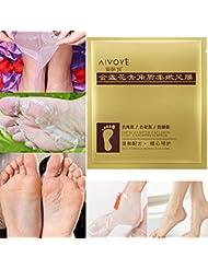 Koly 1 pair Exfoliant Masque de pied Peeling Cuticles Foot Mask Supprimer la peau morteSoins des pieds anti vieillissement