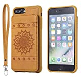 DENDICO Coque iPhone 7 Plus / 8 Plus, Ultra Fine Housse en Cuir pour Apple iPhone 7...