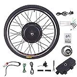 Sfeomi 48V 1000W 26'' Kit di Conversione Bici Elettrica Controllo Mozzo Motore Hub E-Bike Ruota Bicicletta Regolatore di velocità (Ruota Anteriore)