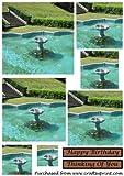 Fontaine bassin carré pyramide par apetroae Stefan