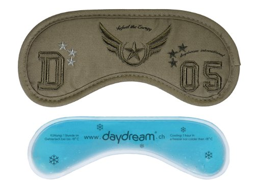 daydream: Army Schlafmaske für Männer aus mattem Stoff (A-1030)
