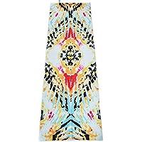 Preisvergleich für Yoga-Matte/Handtuch, 183x 61cm Mikrofaser, rutschfeste Silikon, leicht/Verbessern Hot Yoga, Pilates, Bikram, und Sport