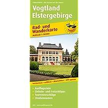 Vogtland - Elstergebirge: Rad- und Wanderkarte mit Ausflugszielen, Einkehr- & Freizeittipps Tourenvorschlägen und Straßennamen, wetterfest, reißfest, ... 1:50000 (Rad- und Wanderkarte / RuWK)
